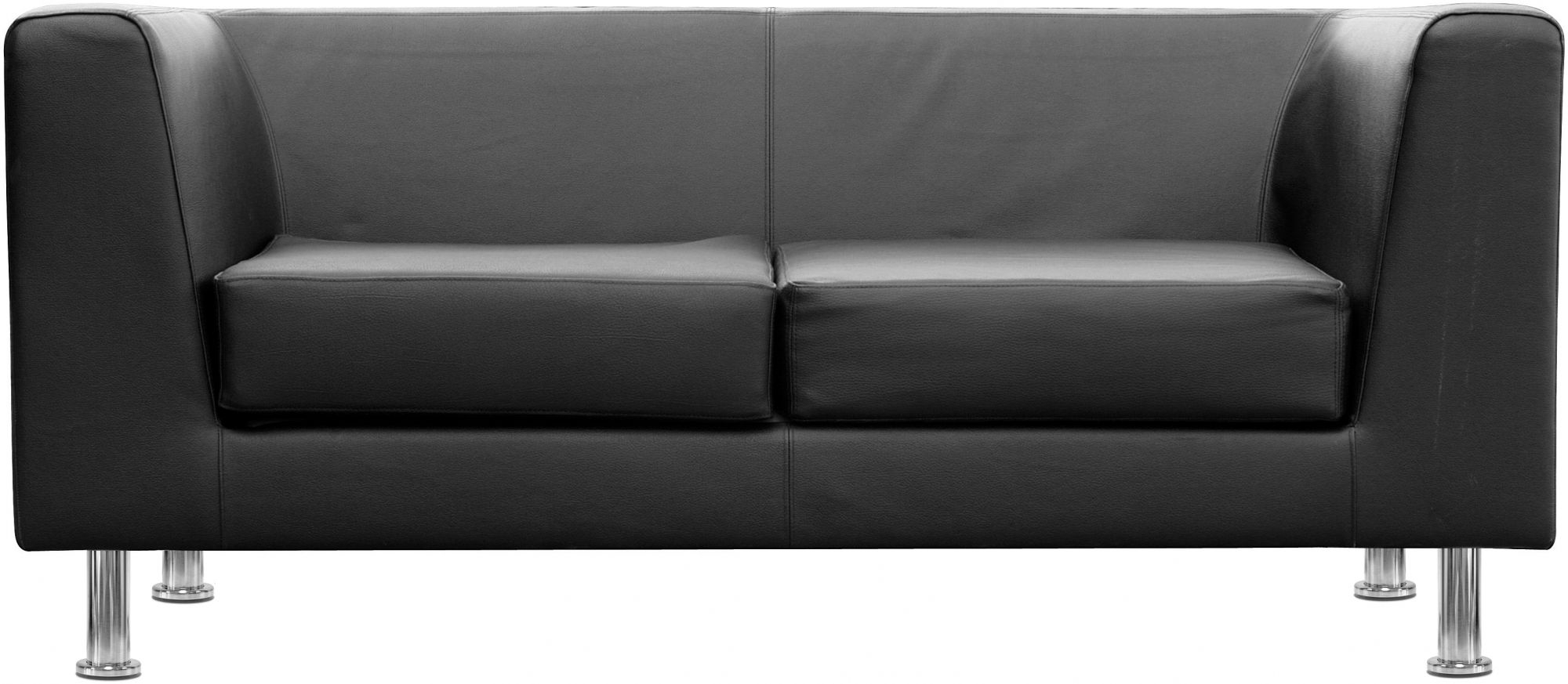Frvi Box Two Seater Sofa Band A Fabric Regarding Two Seater Sofas (Image 11 of 15)