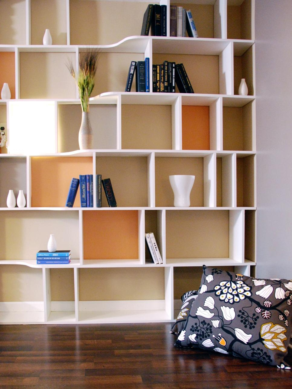 Functional And Stylish Wall To Wall Shelves Hgtv Pertaining To Wall Shelves (Image 7 of 15)