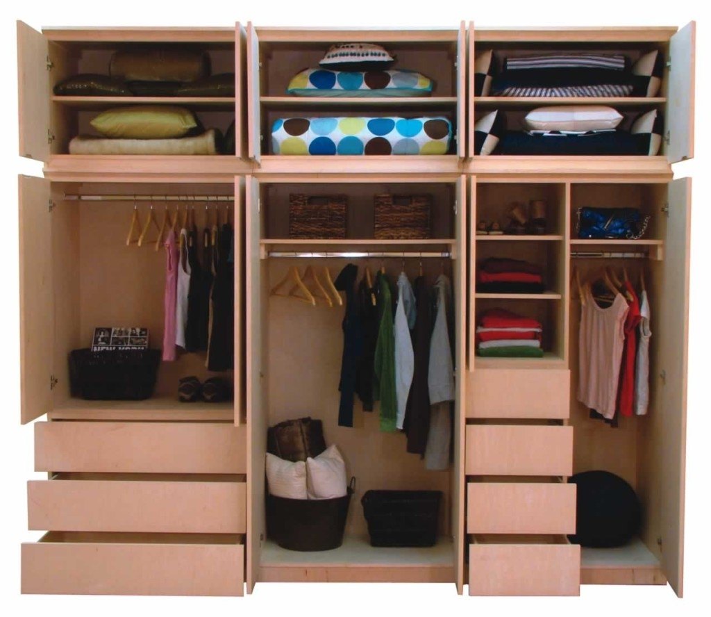 Functional Bedroom Closet And Cupboard Examples That Will Make With Regard To Large Cupboard With Shelves (Image 10 of 25)