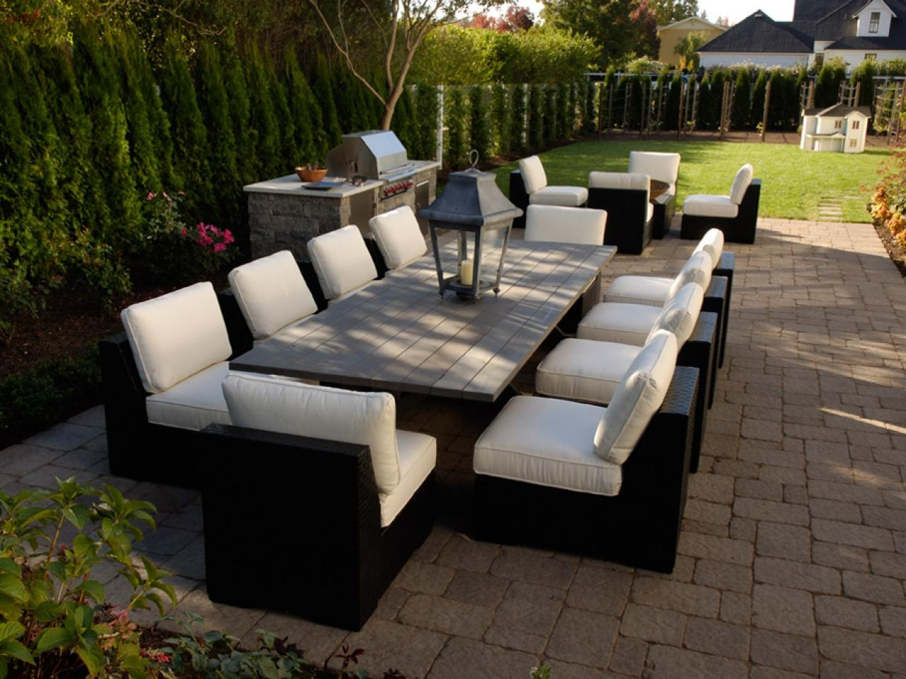 Furnishing Your Outdoor Room Hgtv In Outdoor Sofa Chairs (Image 7 of 15)
