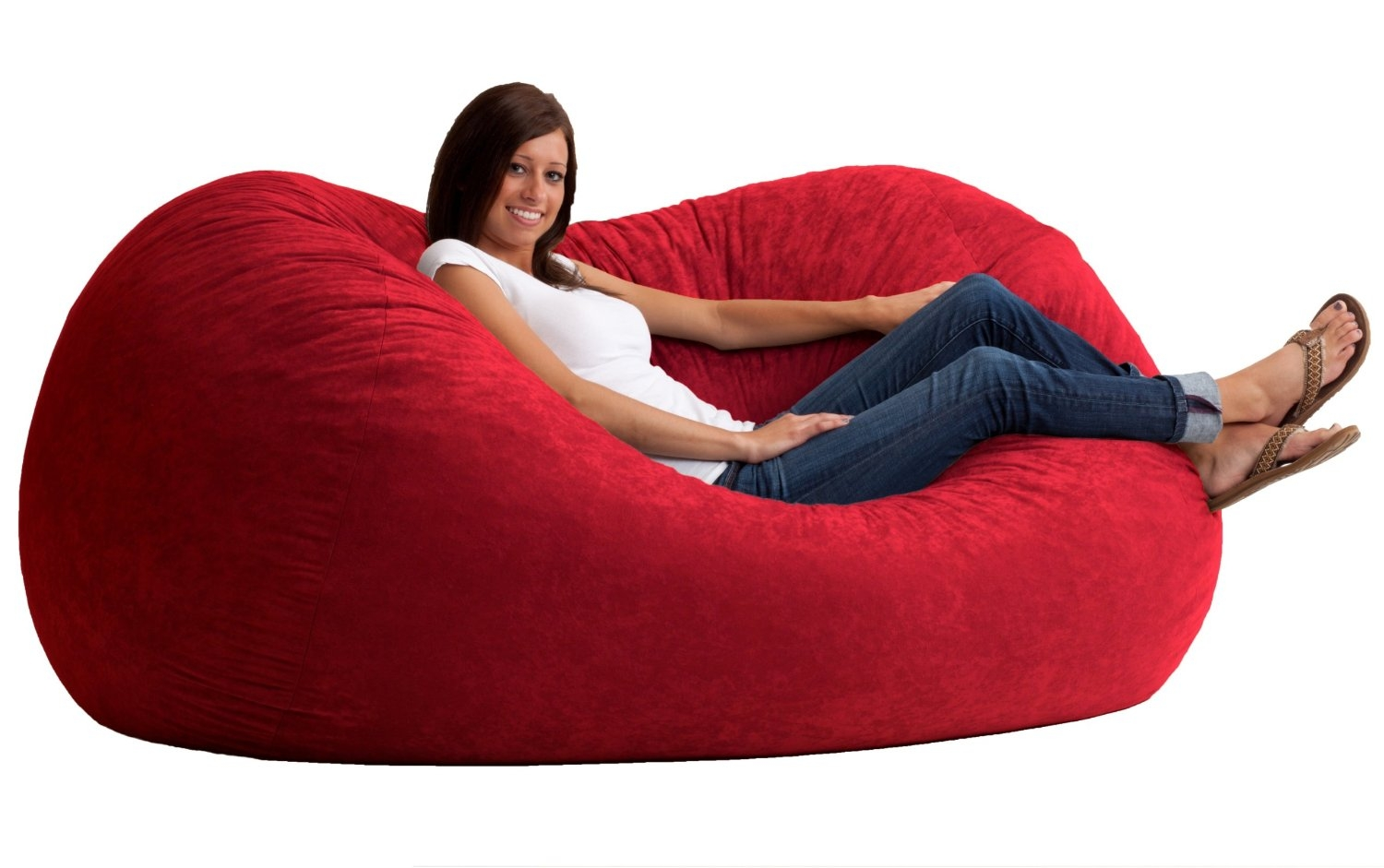 Furniture Bean Bag Sofas Are There Any Benefits Bean Bag Sofa Inside Bean Bag Sofa Chairs (Image 11 of 15)