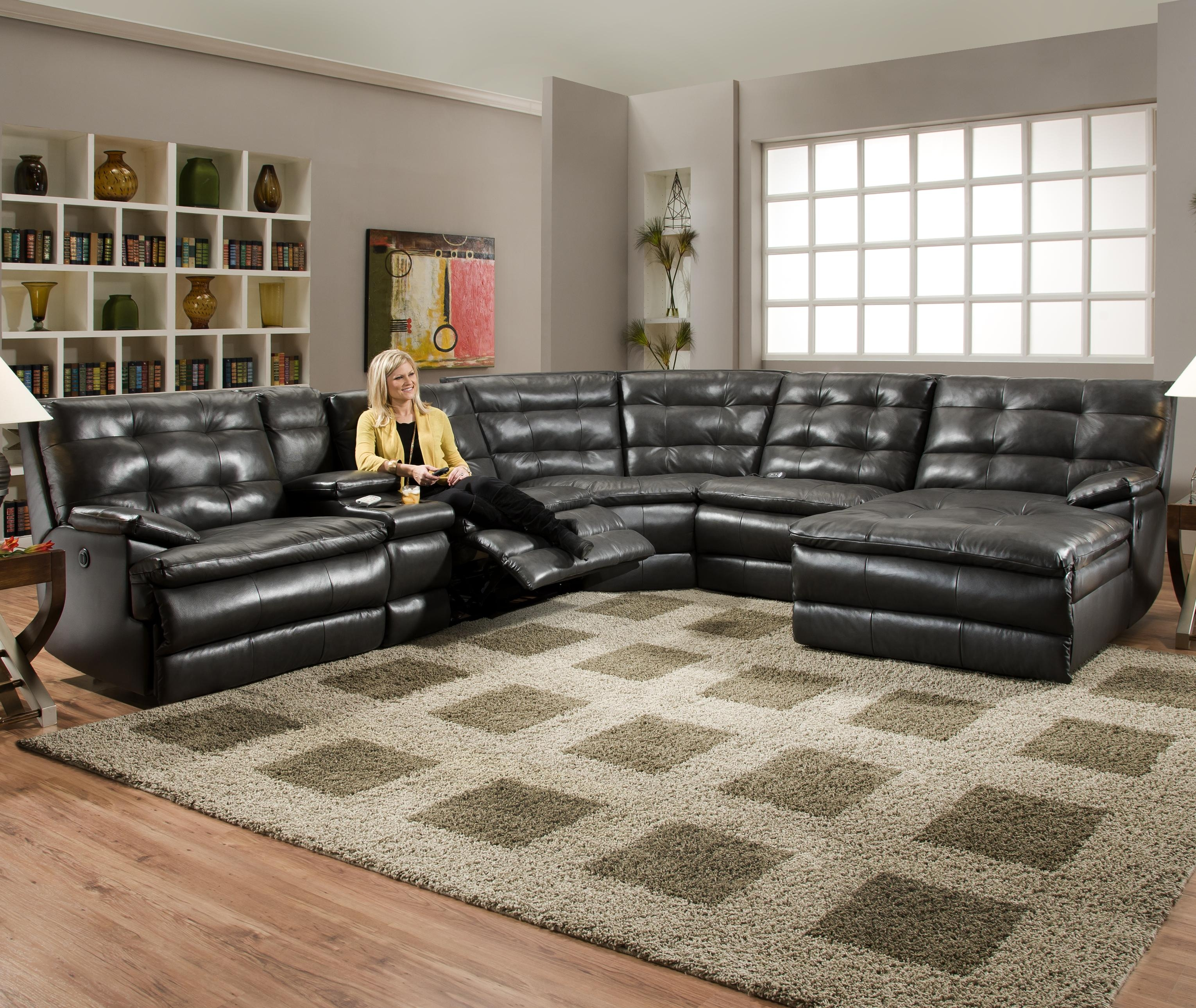 Furniture Comfortable Deep Seat Sectional For Your Living Room Throughout Huge Sofas (Image 2 of 15)