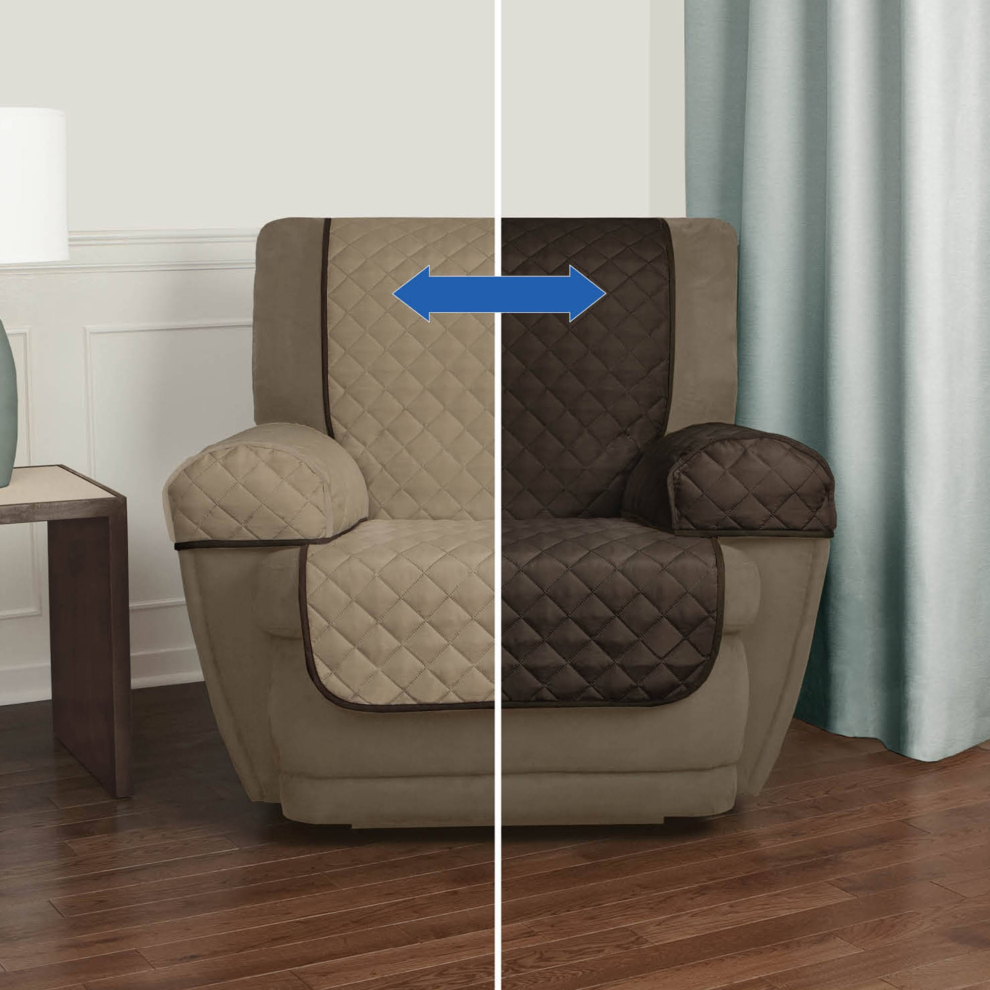 Furniture Couch Covers Walmart For Easily Protect Your Furniture With Regard To Sofa And Chair Covers (Image 4 of 15)