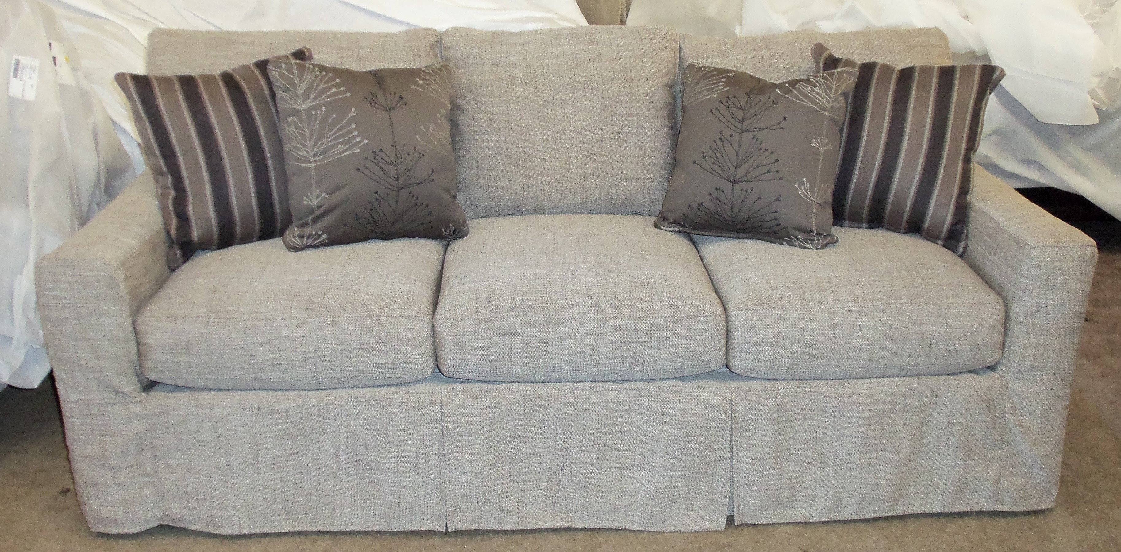 Furniture Creates Clean Foundation That Complements Decorating For Slipcovers For Sofas And Chairs (Image 3 of 15)