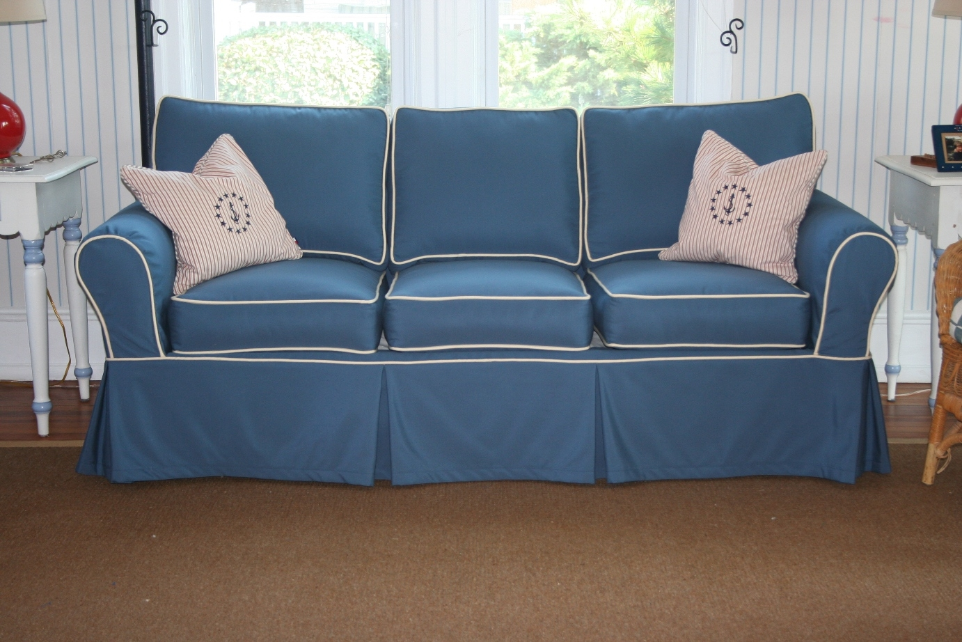 Furniture Creates Clean Foundation That Complements Decorating Inside Slipcovers For Chairs And Sofas (Image 5 of 15)