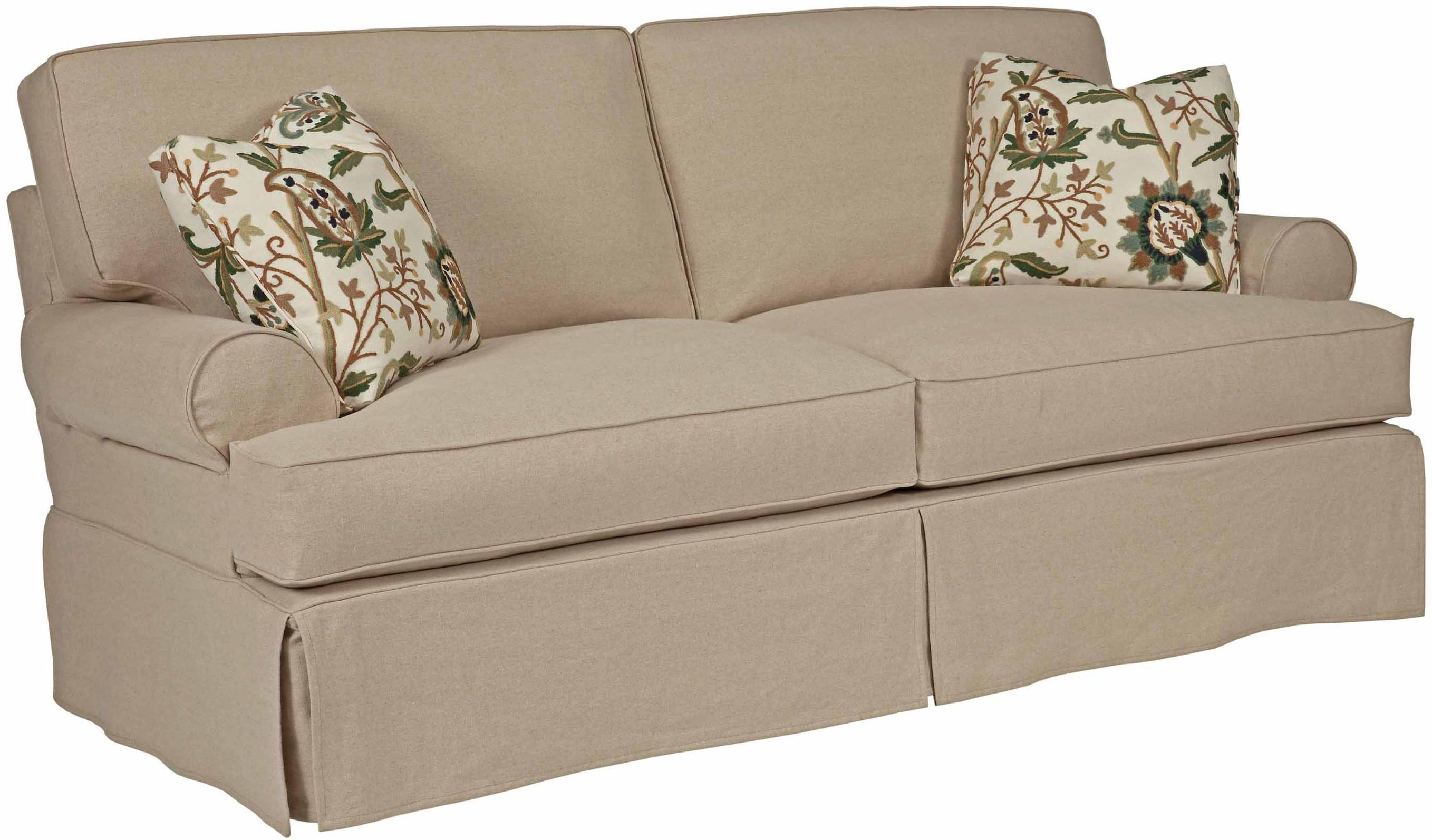 Furniture Creates Clean Foundation That Complements Decorating With Slipcovers For Sofas And Chairs (Image 4 of 15)
