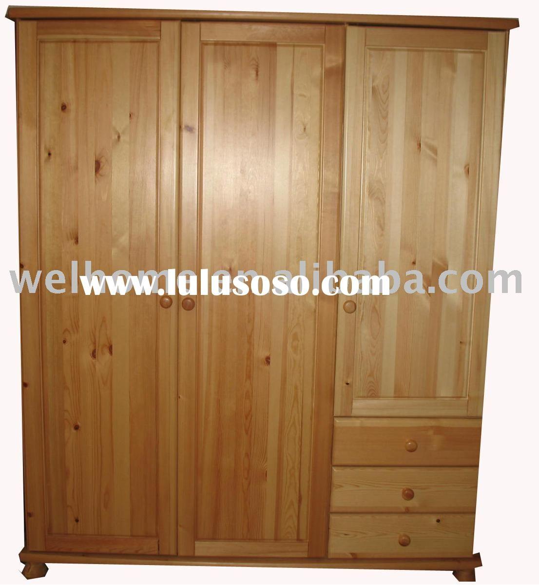 Furniture Fancy Wardrobe Armoire For Wardrobe Organizer Idea Throughout Solid Wood Wardrobe Closets (View 19 of 25)