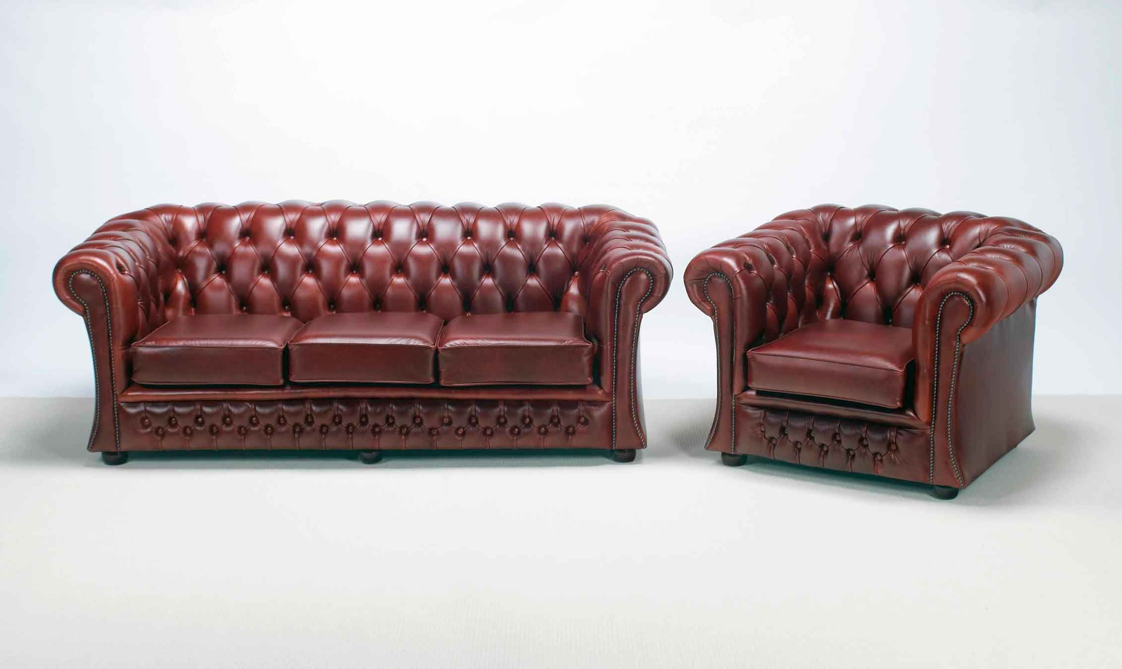 Furniture Have A Luxury Living Room With The Elegant Chesterfield Regarding Chesterfield Sofas And Chairs (Image 10 of 15)