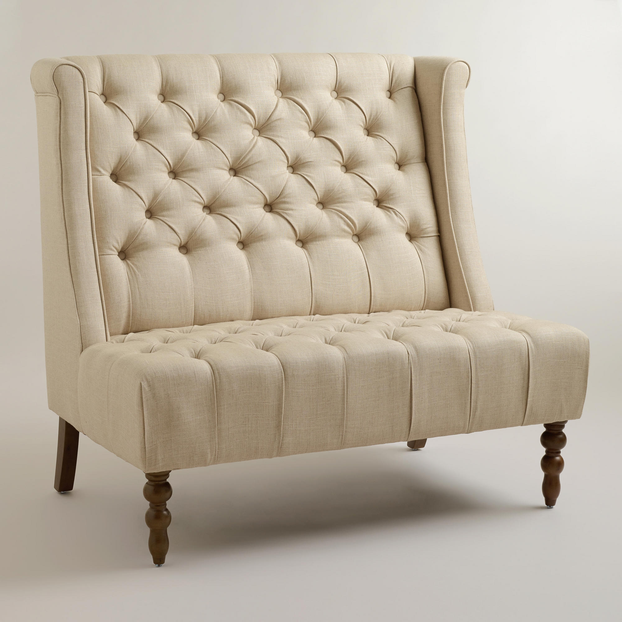 Furniture Settee Bench Antique To Modern Casecre Pertaining To Sofas With High Backs (Image 4 of 15)