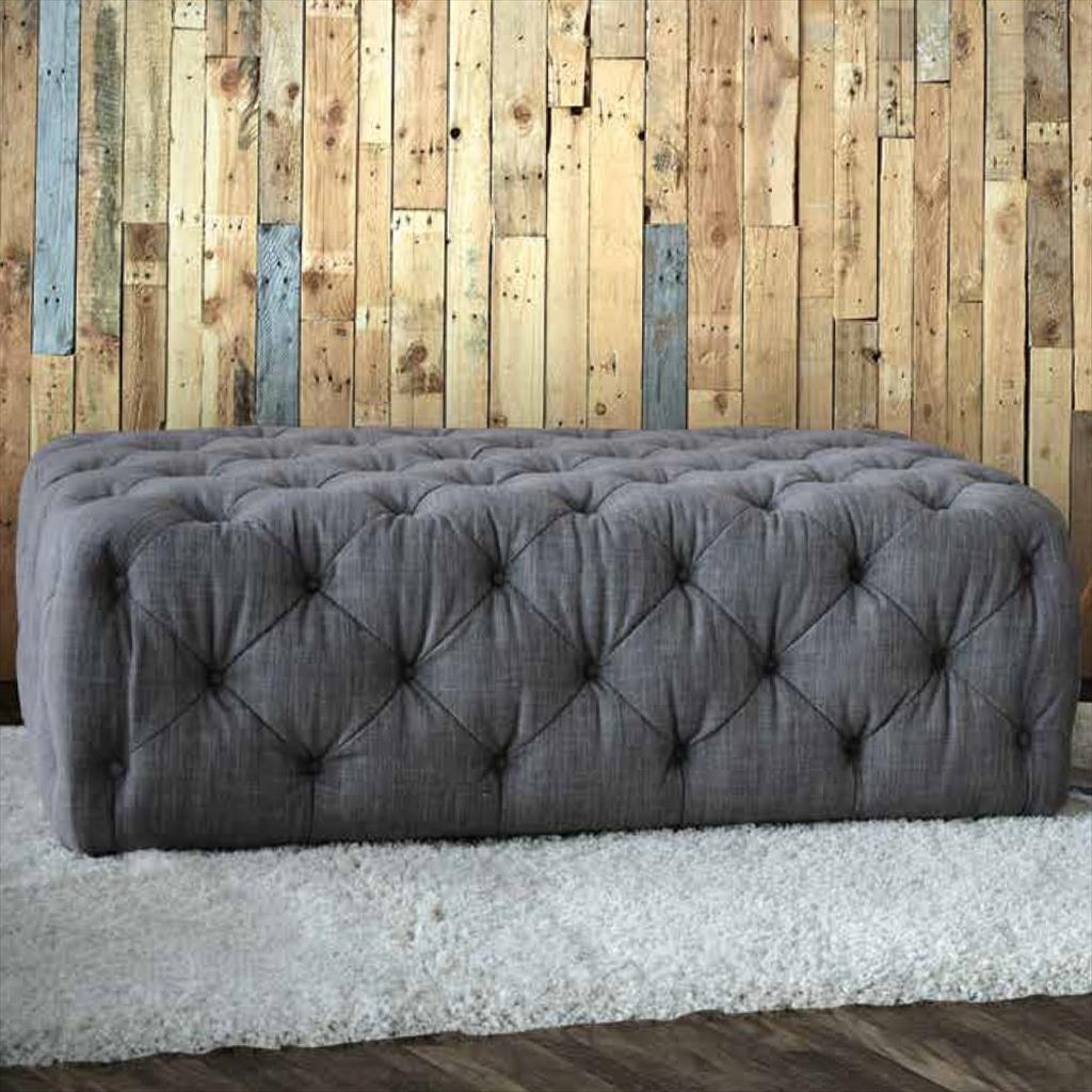 Furniture Up Your Legs Onfabric Footstools Popular Large Fabric Regarding Large Footstools (Image 10 of 15)