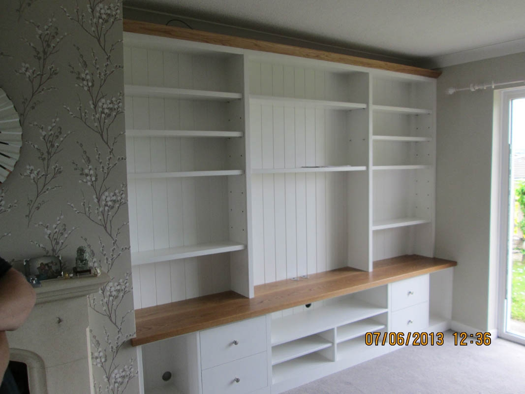 Gary West Bespoke Furniture Inside Fitted Shelves And Cupboards (Image 11 of 15)