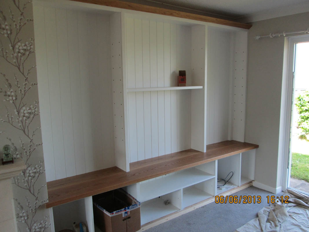 Gary West Bespoke Furniture With Living Room Fitted Cabinets (Image 12 of 15)