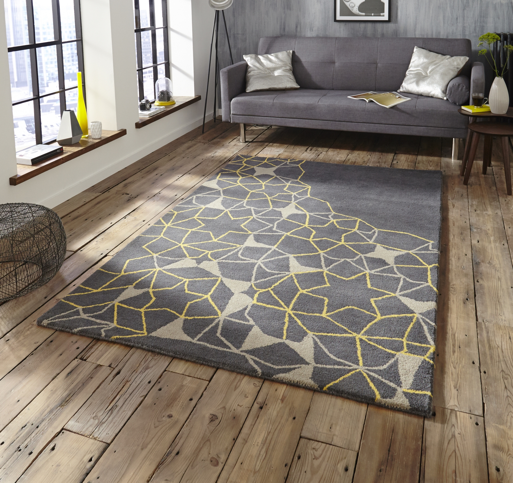 Featured Image of Large Geometric Rugs