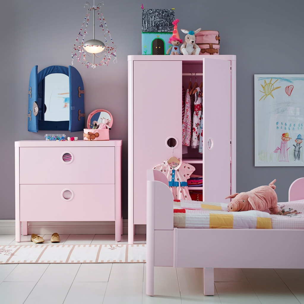 Give Every Little Pig And Shoe A Pink Home Intended For Childrens Pink Wardrobes (Photo 3 of 25)