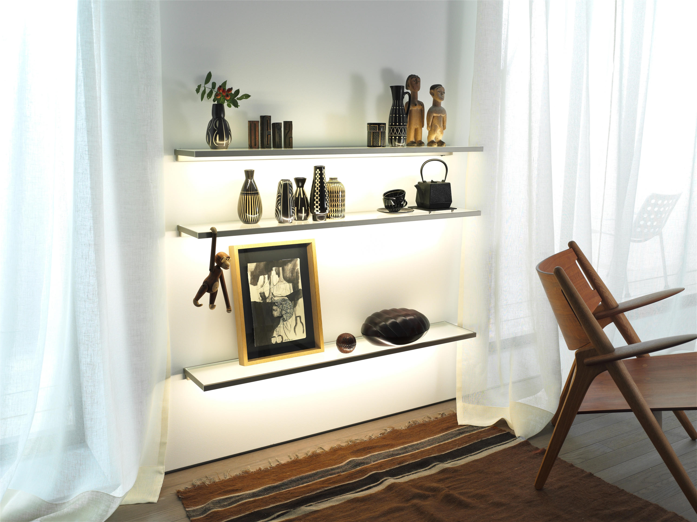 Innovative Glass Shelf Living Room - plusarquitectura.info