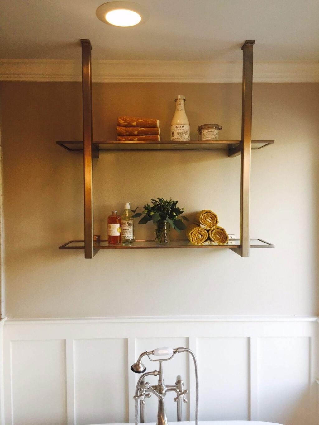 Glass Shelves 60 Cool Designs And Ideas To Decorate Home Decoo With Regard To Suspended Glass Shelves (Image 5 of 15)