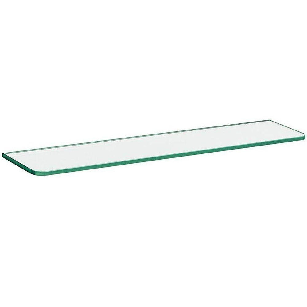 Glass Shelves Shelf Brackets Storage Organization The Intended For Smoked Glass Shelf (Image 6 of 15)
