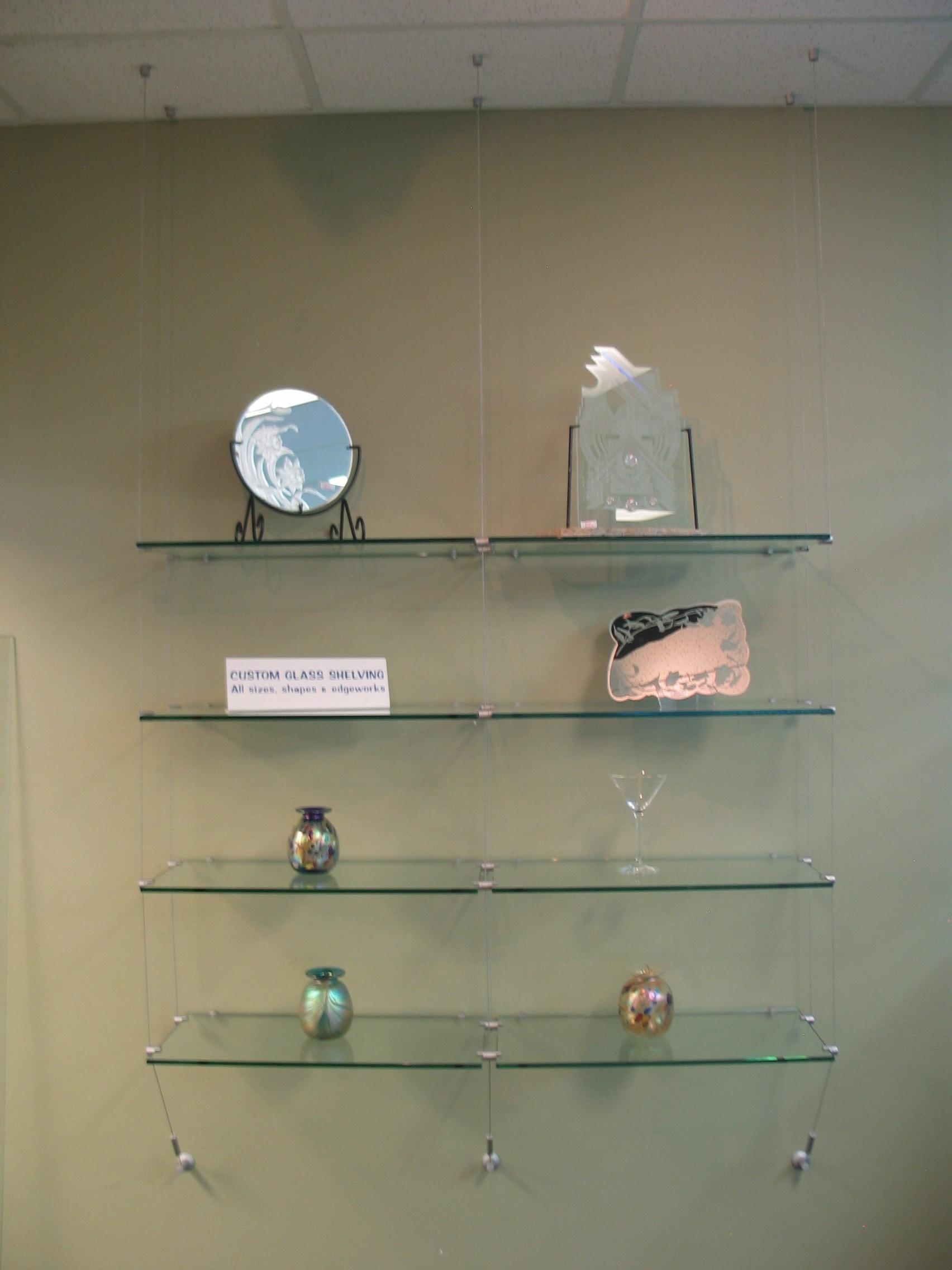 Glass Wall Shelves Glass Wall Shelf Bracket For Glass Shelfglass Pertaining  To Free Floating Glass Shelves