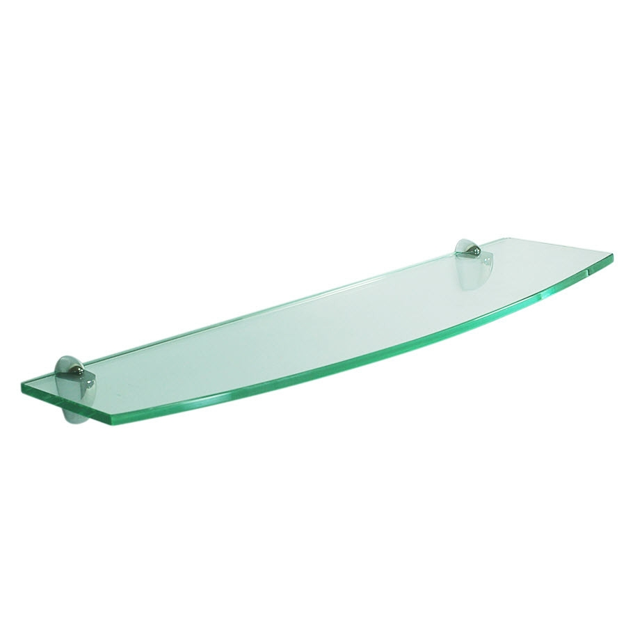 Glass Wall Shelves Glass Wall Shelf Bracket For Glass Shelfglass Regarding Smoked Glass Shelf (Photo 12 of 15)