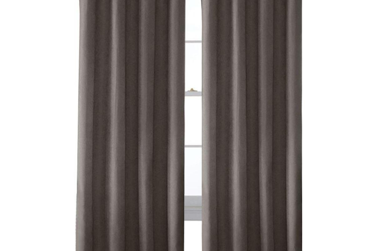 Gratifying White And Grey Curtain Panels Tags White With Grey Intended For Faux Suede Curtain Panels (Image 13 of 25)