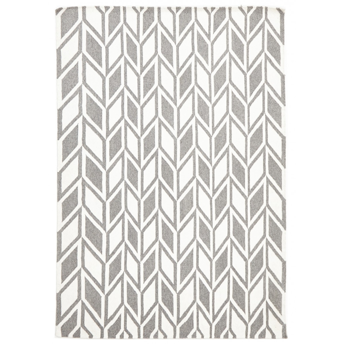 Gray Chevron Rug In Black And Grey Chevron Rugs (Image 9 of 15)