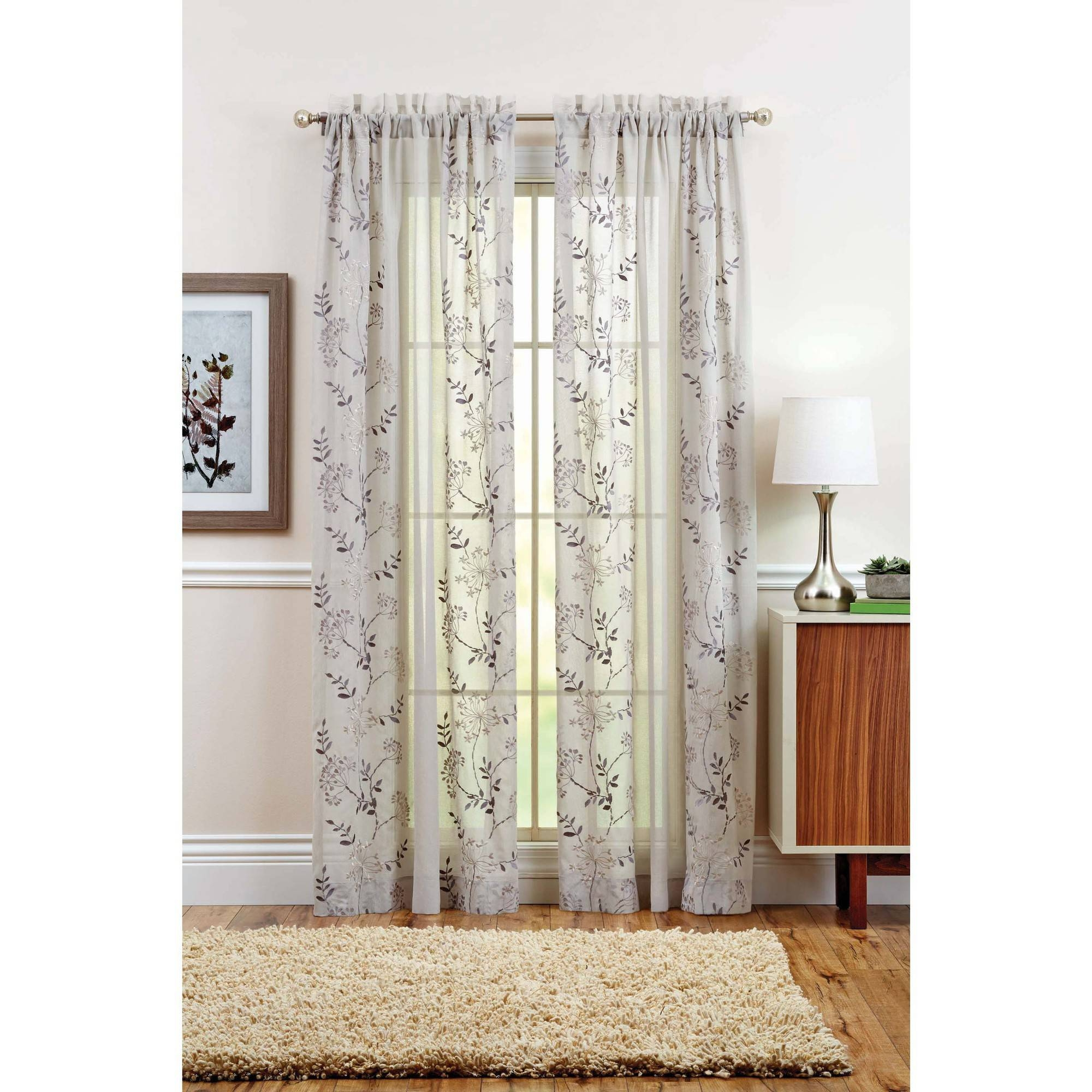 Gray Curtains With Regard To Faux Suede Curtain Panels (Image 14 of 25)