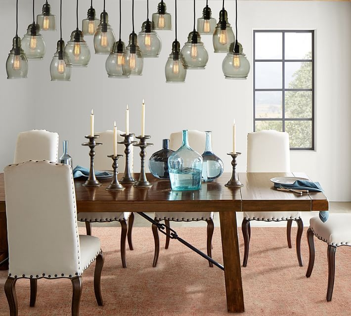 Great Best Glass 8 Light Pendants With Paxton Pendant Light Campernel Designs (Image 11 of 25)