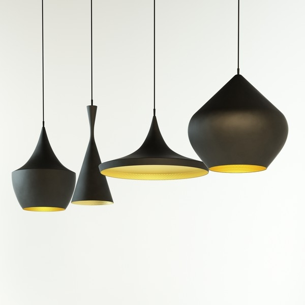 Great Brand New Replica Pendant Lights For Replica Tom Dixon Black Beat Light Tall Pendant Lamp Httpwww (Image 6 of 25)