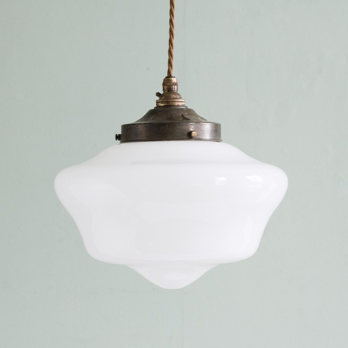 Great Common Edwardian Pendant Lights Regarding Edwardian Opaline Pendant Light Lighting Lassco Englands (Image 11 of 25)