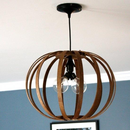 Great Deluxe Bentwood Pendant Lights Regarding Diy Lighting Gallery Dwellinggawker (Image 10 of 25)
