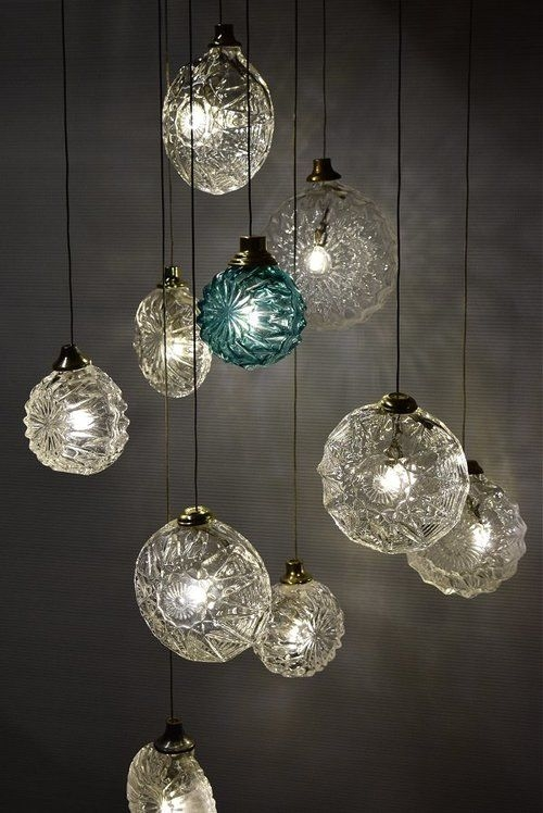 Great Deluxe Hand Blown Glass Pendant Lights For Glass Blown Pendant Lighting Home Decoration (Image 9 of 25)