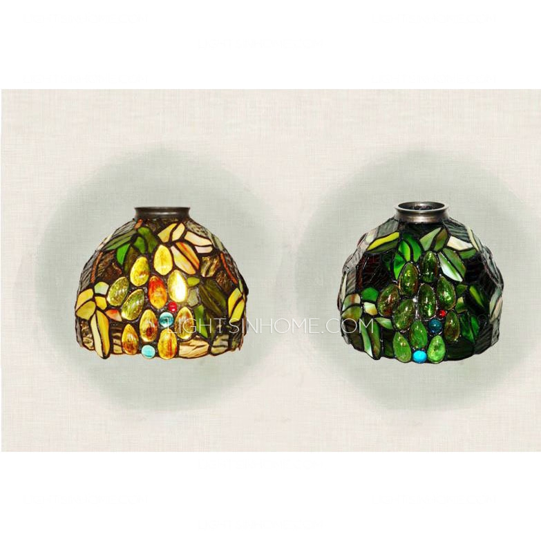 Great Deluxe Stained Glass Mini Pendant Lights Regarding Mini Pendant Lights Metal Base E26e (Image 13 of 25)