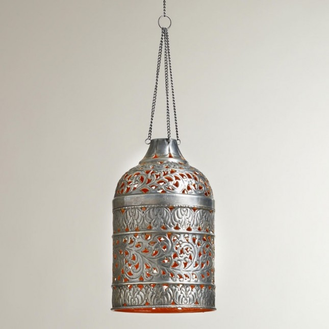 Great Elite Punched Metal Pendant Lights Inside Creative Design Of Diy Pendant Light For Rooms Homesfeed (Image 9 of 25)