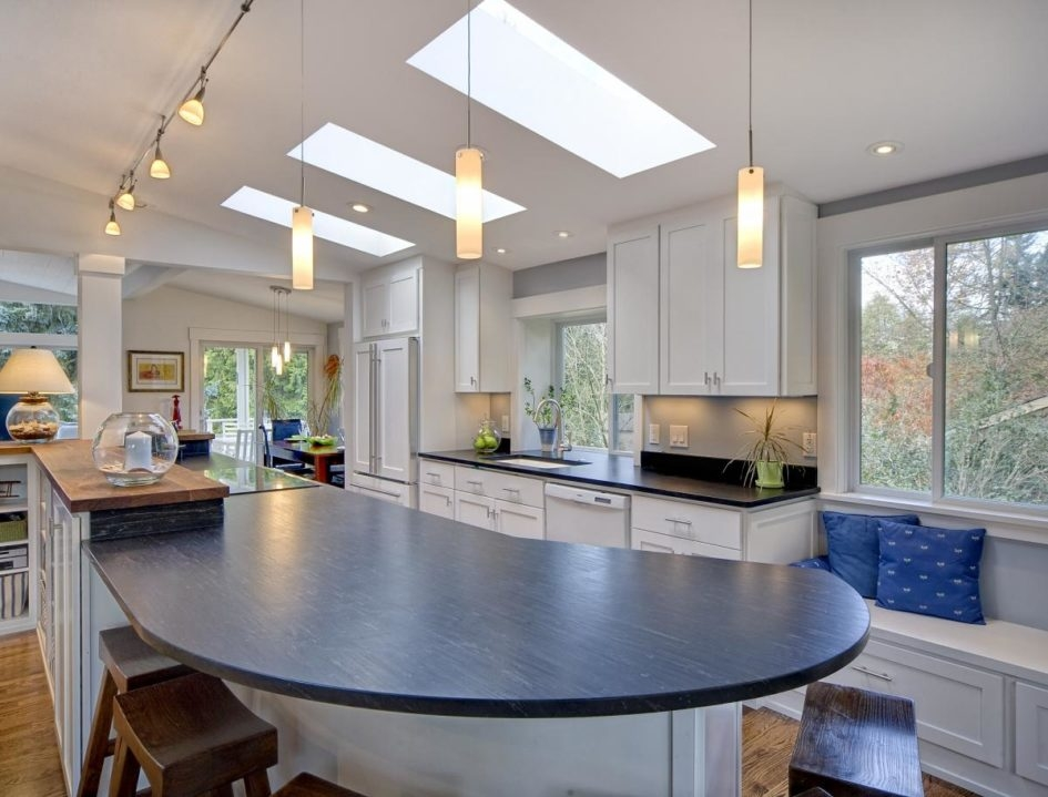Great Elite Vaulted Ceiling Pendant Lights Intended For Lighting Ideas Kitchen Track Lighting And Pendant Lamps Over (Image 6 of 25)