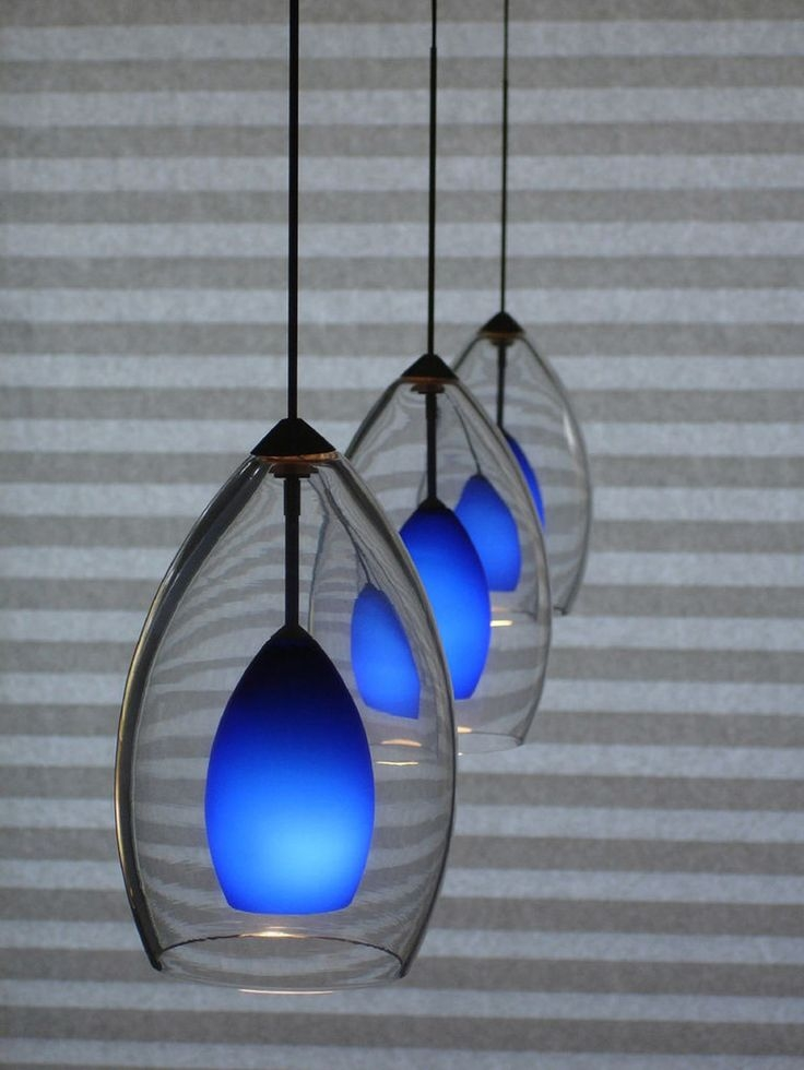 Great Famous Blue Pendant Light Fixtures With 16 Best Blue Kitchen Decorating Images On Pinterest (View 24 of 25)