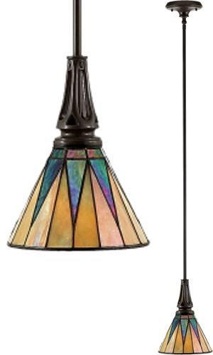 Great Famous Stained Glass Mini Pendant Lights In 21 Best Images About Lmparas On Pinterest Glass Art Poppy Red (View 25 of 25)