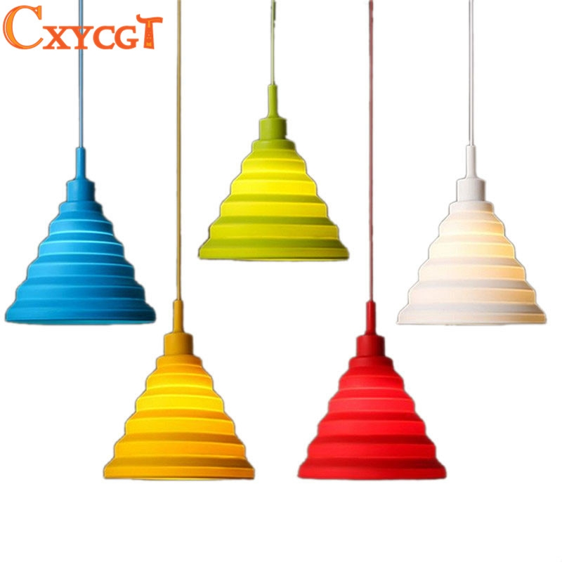 Great Fashionable Multi Coloured Pendant Lights Pertaining To Online Get Cheap Colored Pendant Lighting Aliexpress (View 18 of 25)
