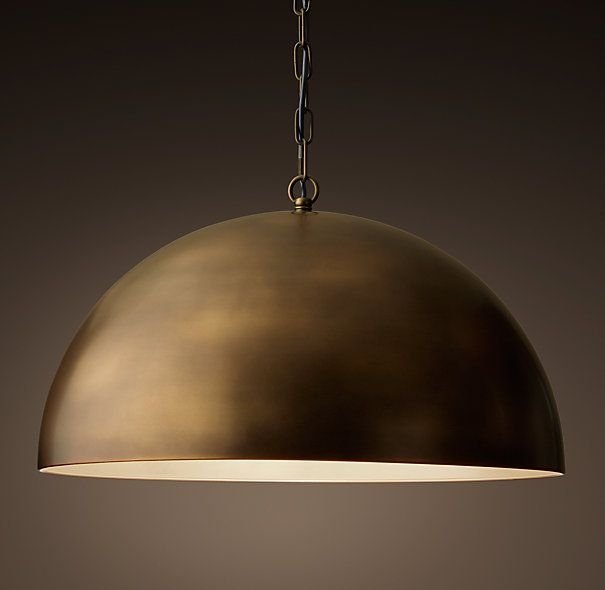 Great Favorite Large Dome Pendant Lights For 22 Best Pendant Light Images On Pinterest (Image 12 of 25)