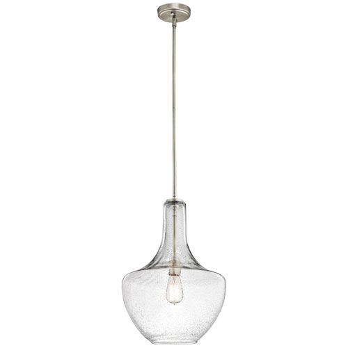 Great Favorite Pendant Lighting Brushed Nickel Within Collection In Brushed Nickel Pendant Light Nickel Brushed Pendant (Image 11 of 25)