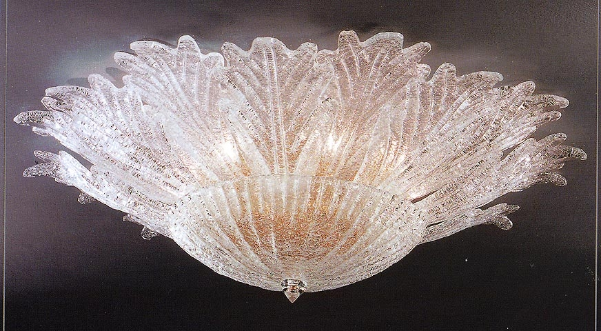 Great Favorite Venetian Glass Ceiling Lights Pertaining To Murano Ceiling Lamps (View 14 of 25)