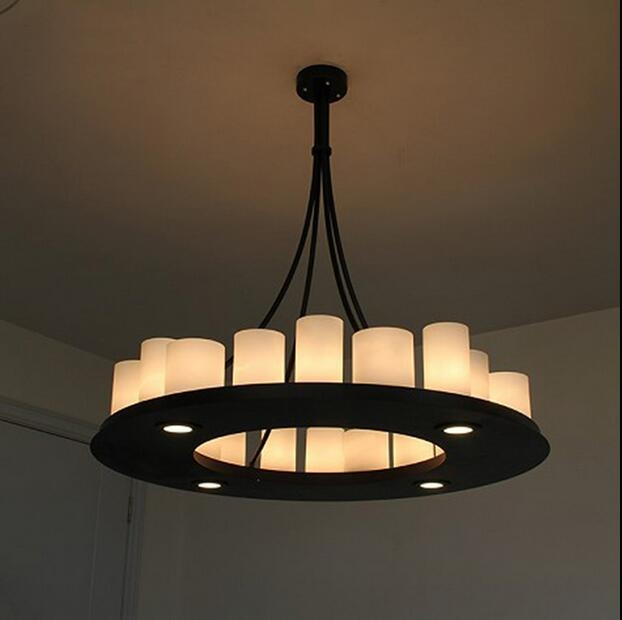 Featured Image of French Style Glass Pendant Lights