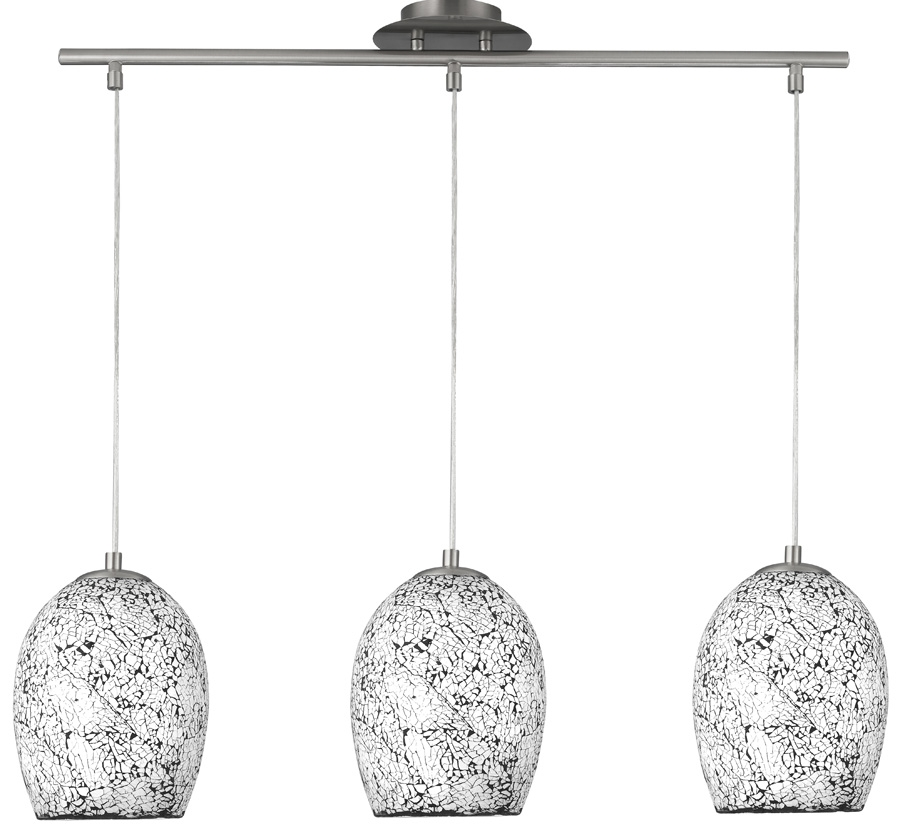 Great Latest Crackle Glass Pendant Lights Regarding Cracked Glass Pendant Light Tequestadrum (Image 12 of 25)