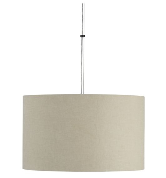 Great Latest Crate And Barrel Pendant Lights Regarding How To Make Your Own Drum Shade Pendant Lamp (Image 13 of 25)
