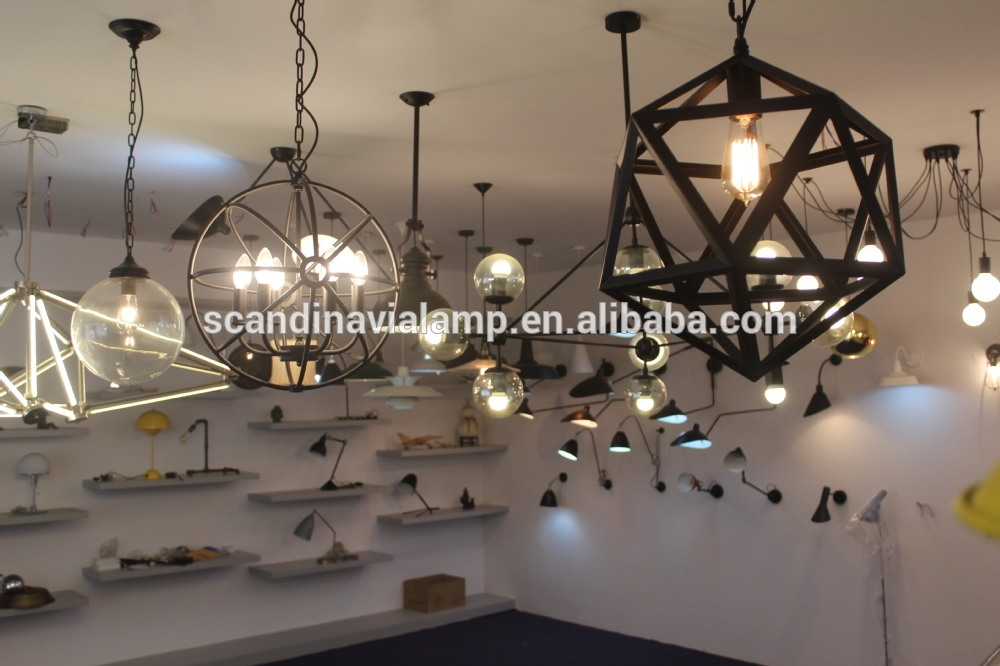 Great New Bare Bulb Filament Pendants Throughout Wholesale Historic Factory Bare Bulb Filament Triple Pendant Lamp (Image 14 of 25)