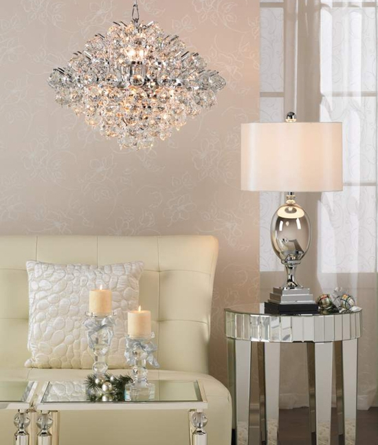 Great New Lamps Plus Pendant Lights With Regard To A Stunning Modern Crystal Pendant Chandelier Vienna Full (Image 17 of 25)