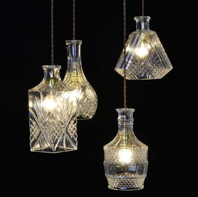 Great Popular Wire And Glass Pendant Lights With Aliexpress Buy European Creative Design Modern Ornate Carved (View 16 of 25)