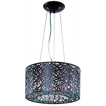 Great Preferred Inca 9 Light Pendants With Amazon Et2 Lighting E21309 10bz Pendant With Clear And White (Image 15 of 25)