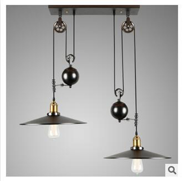 Featured Image of Adjustable Pulley Pendant Lights