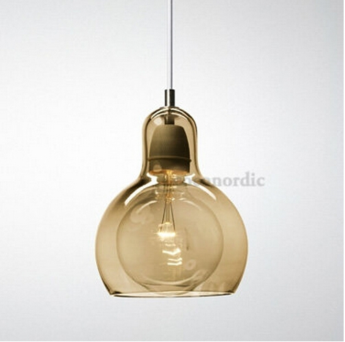 Great Premium Brown Glass Pendant Lights With Regard To Popular Amber Pendant Lights Buy Cheap Amber Pendant Lights Lots (Image 16 of 25)