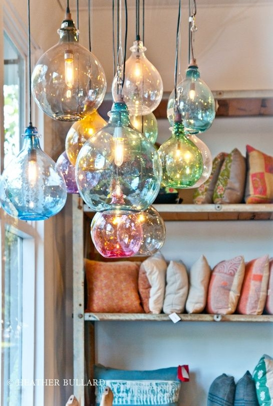 Great Premium Coloured Glass Pendant Lights Regarding Best 25 Pendant Lights Ideas On Pinterest Kitchen Pendant (Image 12 of 25)